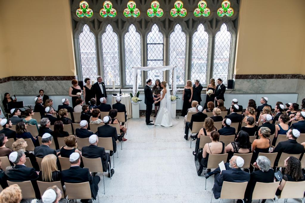 J+A's Elegant Jewish Wedding