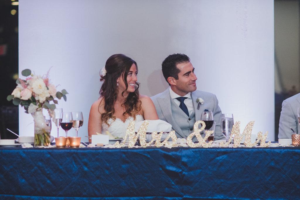 A+R's Elegant Downtown Wedding