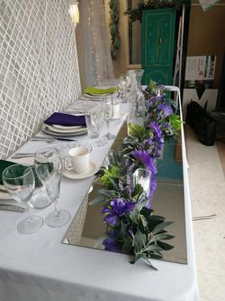 Head Table - Showroom Example