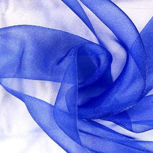 Table Topper ~ Royal Blue Organza