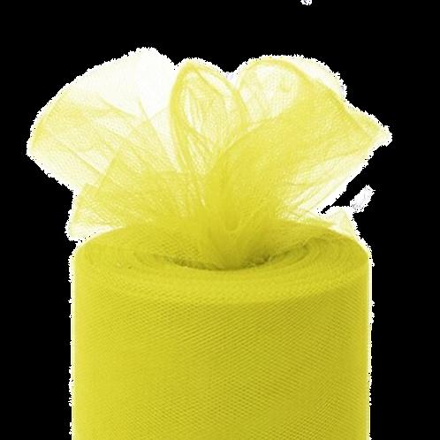 Tulle ~ Lemon Yellow