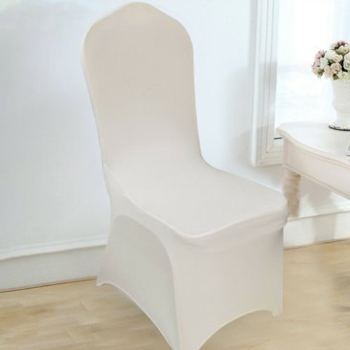 Chair Cover ~ Ivory Spandex