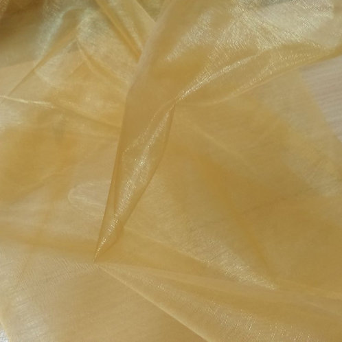 Table Topper ~ Gold Organza