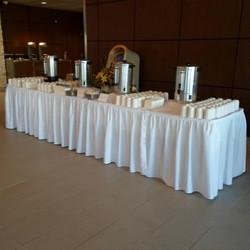 Coffee & Tea Buffet Table