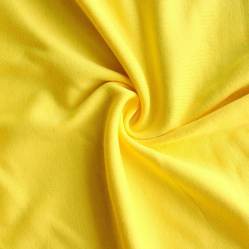 Lemon Yellow Cotton