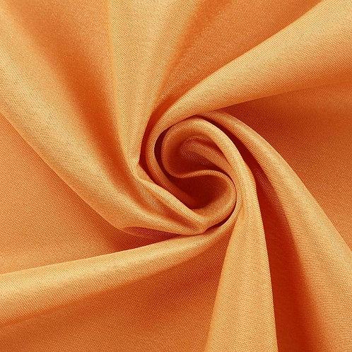 10' Rectangular ~ Orange Polyester