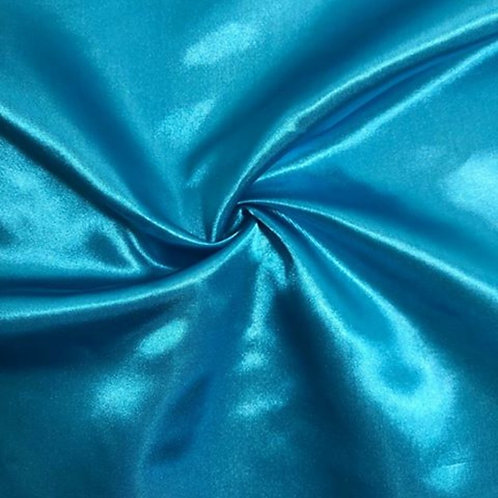 Dark Turquoise Satin