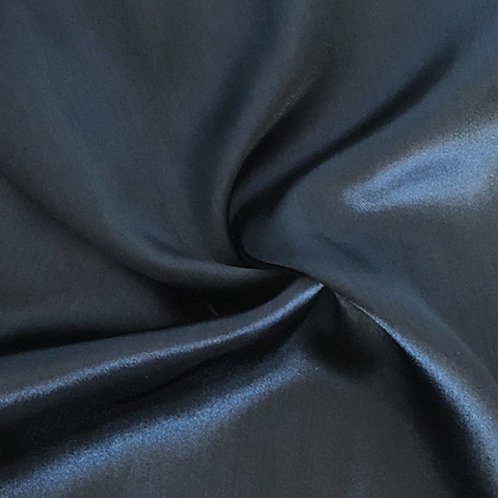 Table Runner ~ Navy Satin