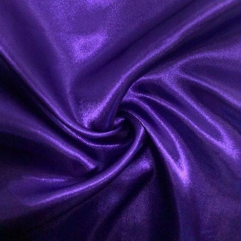 Table Runner ~ Purple Satin