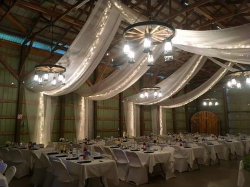 Across Ceiling Arrangement - Parker's Barn
