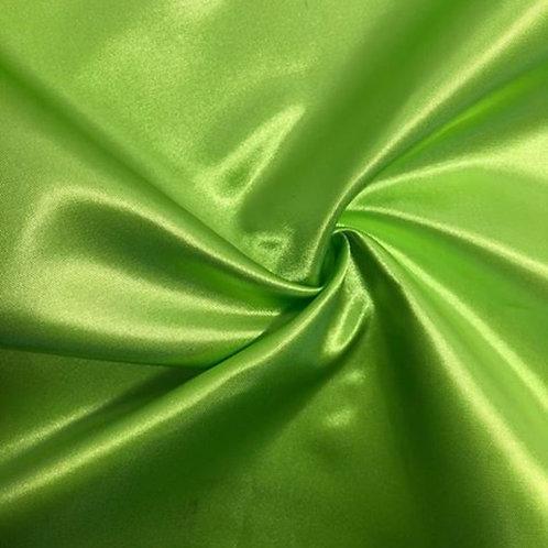 Table Runner ~ Lime Green Satin