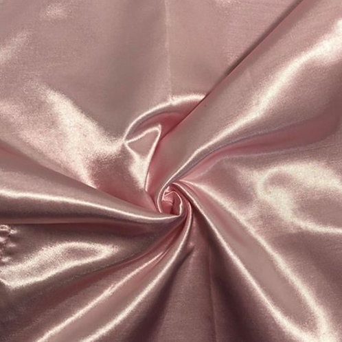 Table Runner ~ Baby Pink Satin