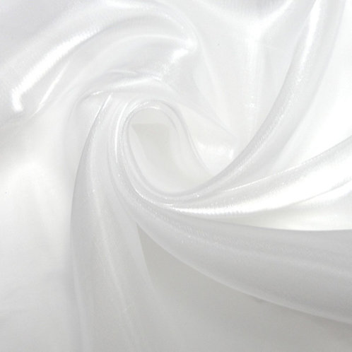 Cinderella Skirt ~ White Shimmer Sheer