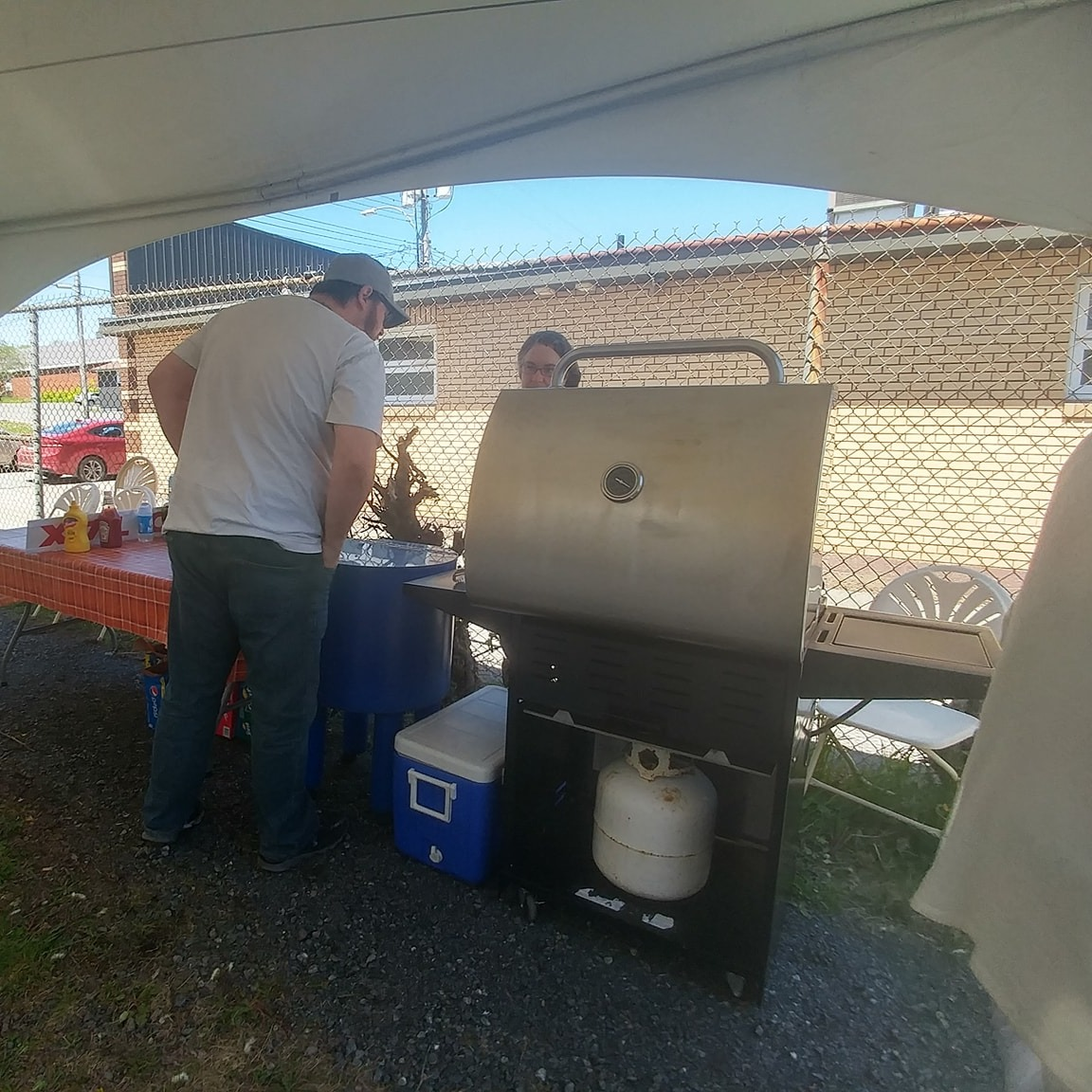 BBQ Setup Example