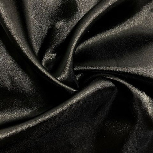 Table Runner ~ Black Satin