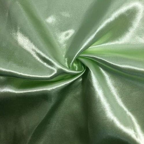 Table Runner ~ Mint Green Satin
