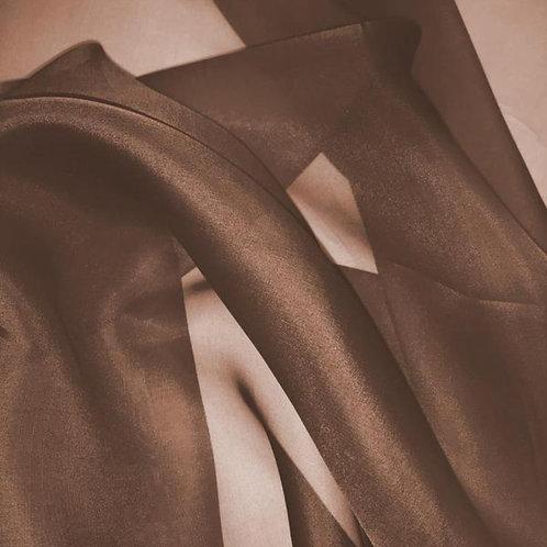 Chair Sash ~ Chocolate BrownOrganza