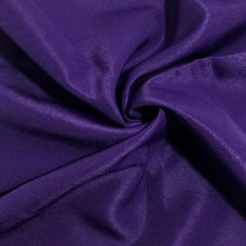 10' Rectangular ~ Purple Polyester