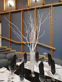 White Branch w/Orange Accents - Corporate Event