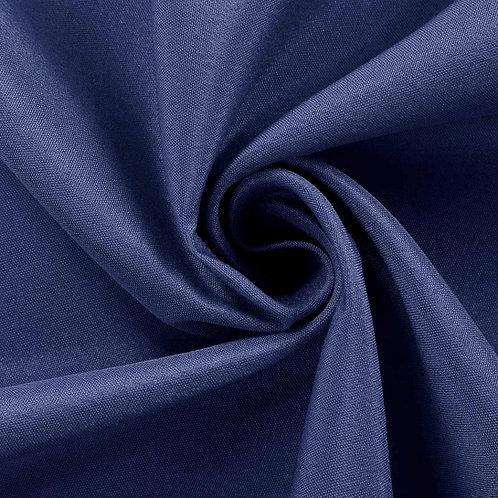 8' Rectangular ~ Navy Polyester