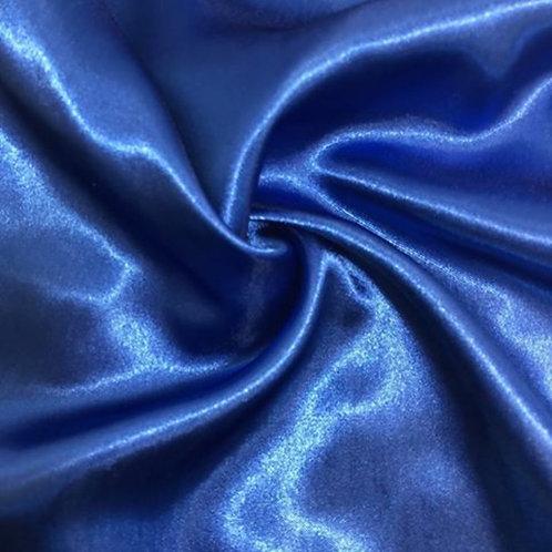 Table Runner ~ Royal Blue Satin