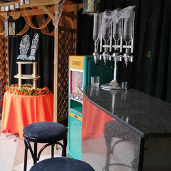 Portable Bar Set Up - Showroom Example