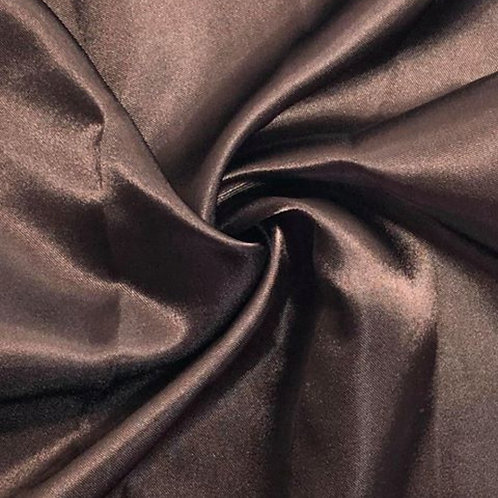 Table Runner ~ Dark Brown Satin