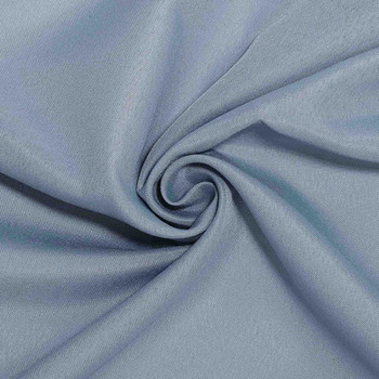 """108"""" Round ~ Dusty Blue Polyester"""