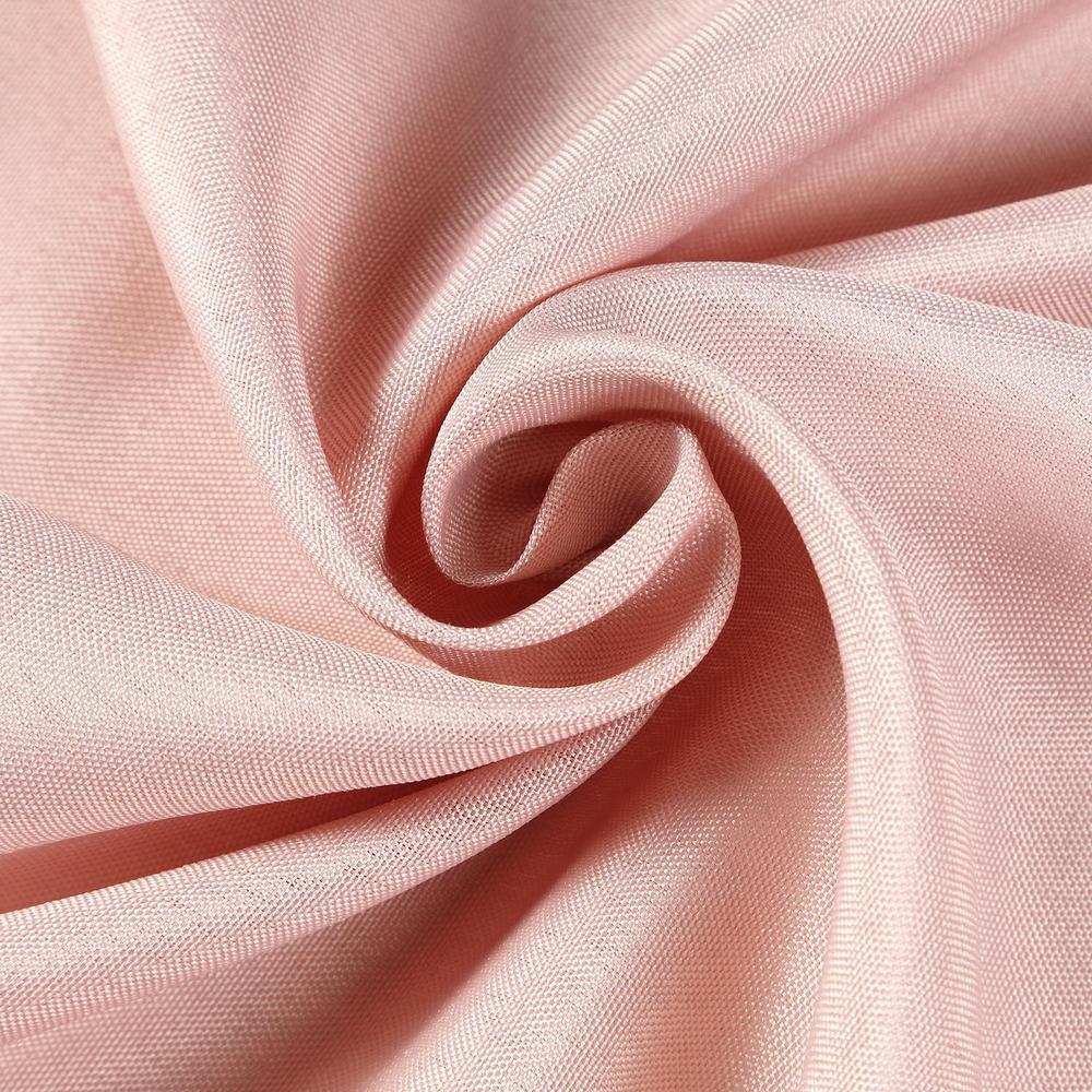 "108"" Round ~ Blush Polyester"