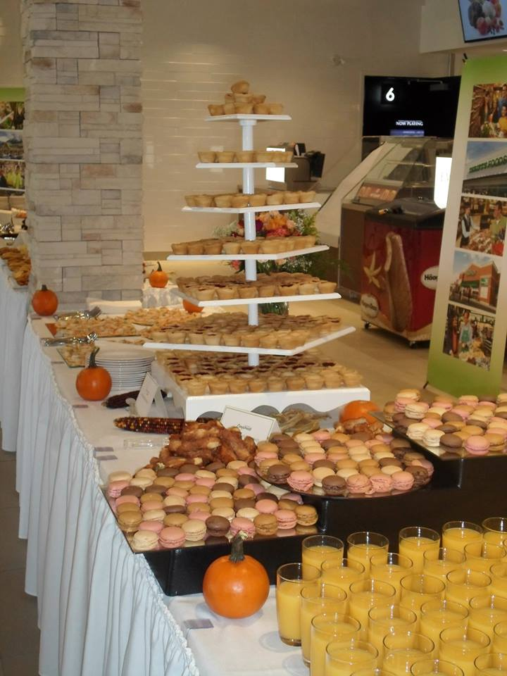 Treats Buffet Table Setup