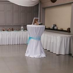 Bar Table & Table Skirting