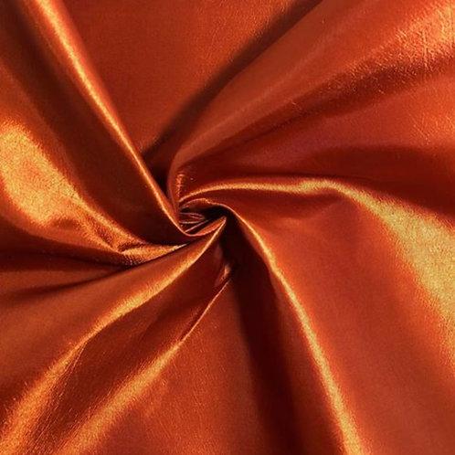 Table Runner ~ Burnt Orange Satin