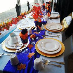 6 Guest Table Place Setting - Showroom Example