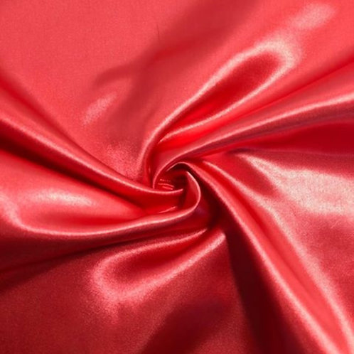 Table Runner ~ Coral Satin