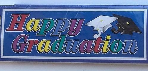 """Happy Graduation"" Colourful Banner"