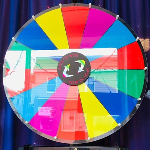Table Prize Wheel
