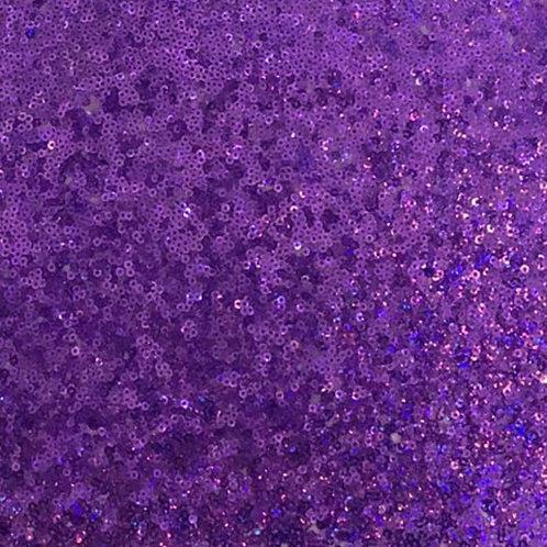 Table Runner ~ Purple Sequin