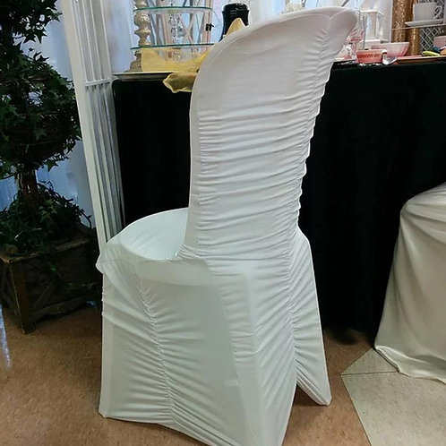 Chair Cover ~ White Spandex