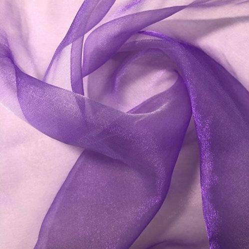 Table Topper ~ Lavender Organza