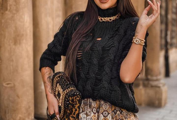Sweter DOLCE black