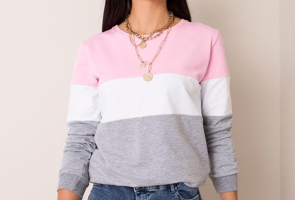 Jasnoróżowa bluza Larice
