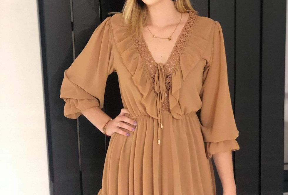 Sukienka DAGA BROWN