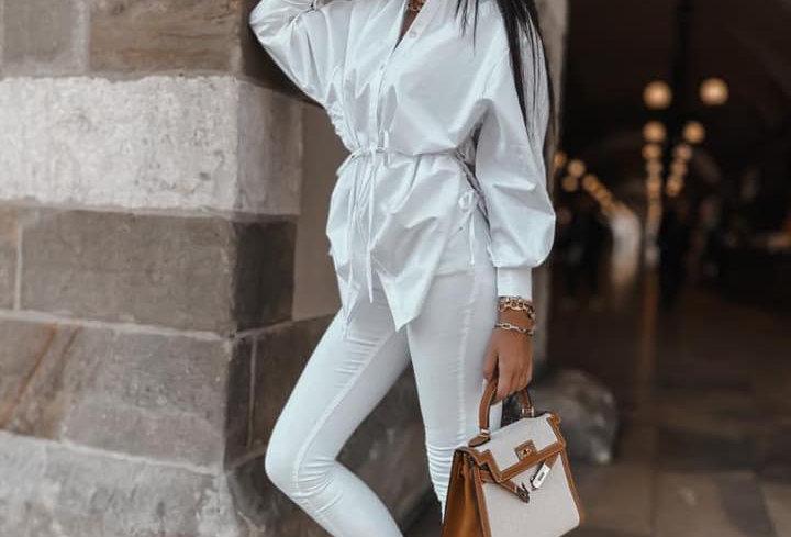 Koszula Long White