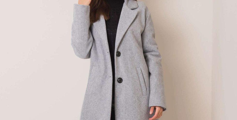 Szary płaszcz Corinna
