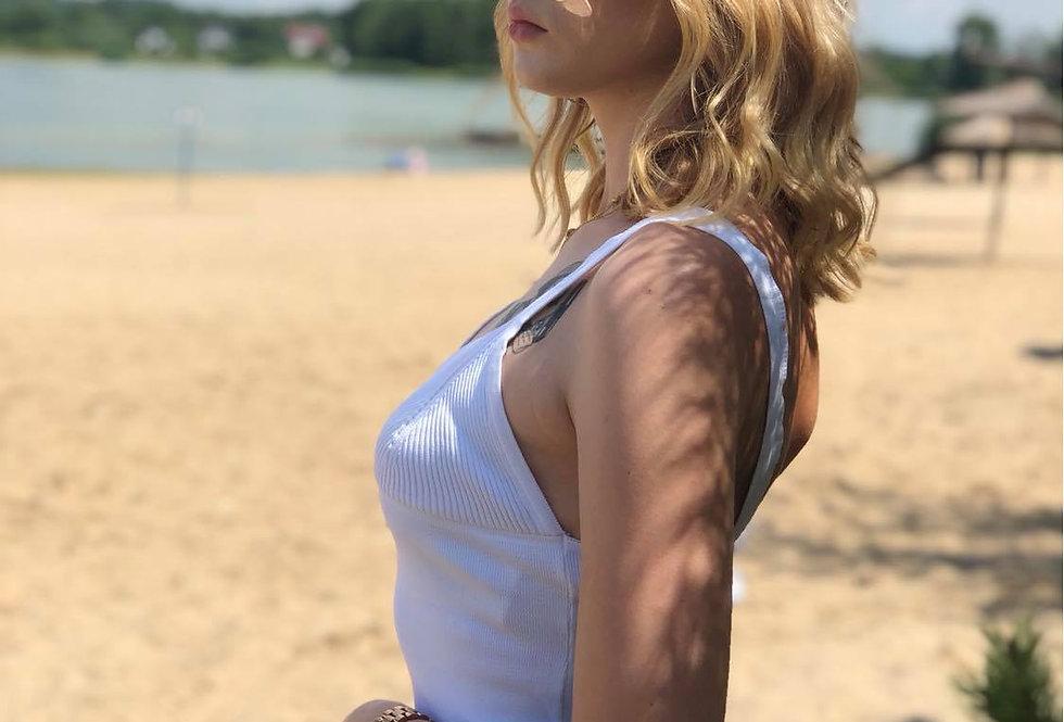 Biały top Gina RUE PARIS
