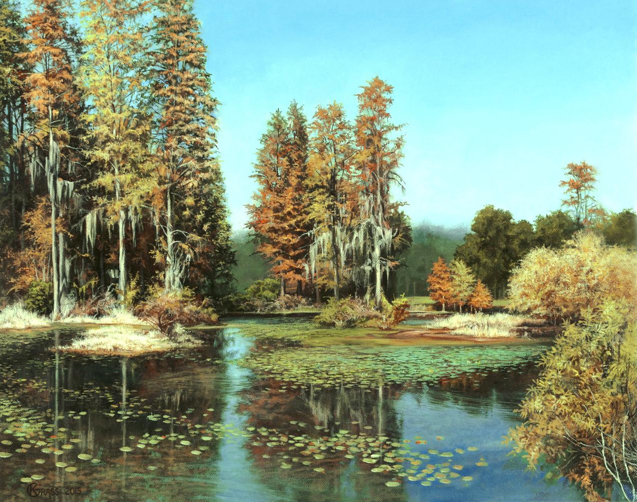 Autumn Pond: $2,600