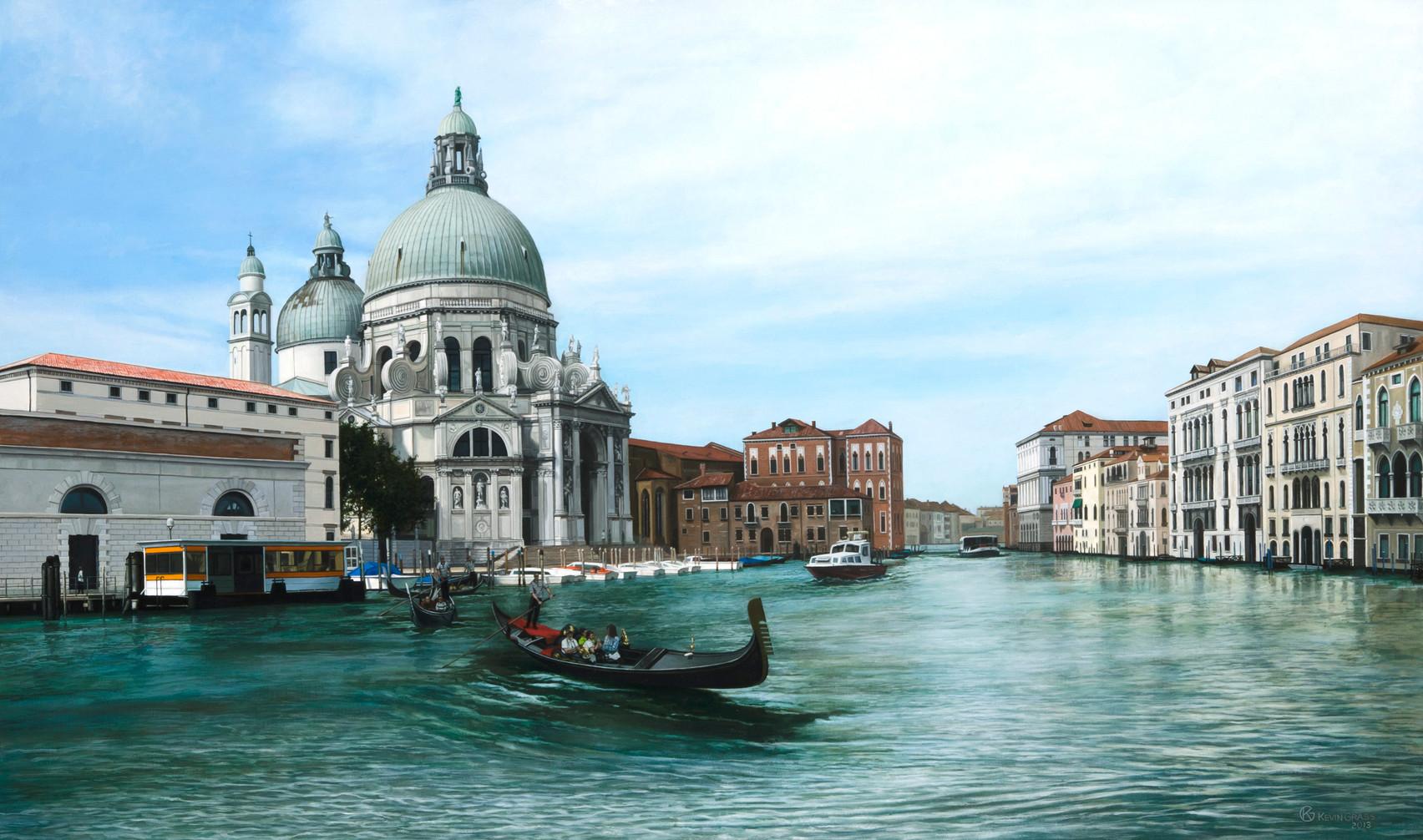 View of Santa Maria della Salute Venice: $9,020