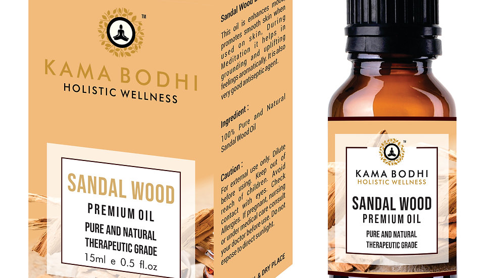 Sandal Wood (Santalum album) Premium oil