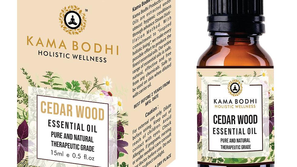 Cedarwood (Juniperus virginiana) Essential oil