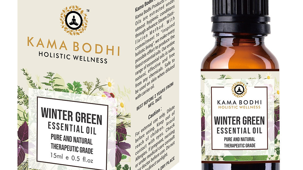WinterGreen (Gaultheria procumbens) Essential Oil